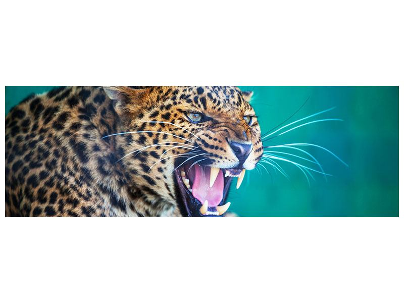 Poster Panorama Achtung Leopard