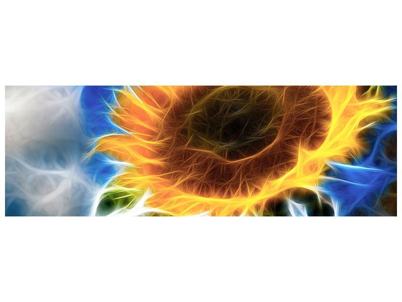 Poster Panorama Der Sonne entgegen