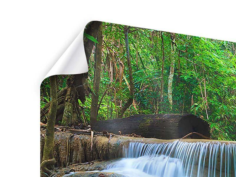 Poster Panorama Kaskaden Huay Mae Khamin