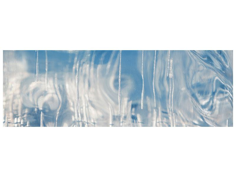 Poster Panorama Das Eis des Baikalsees