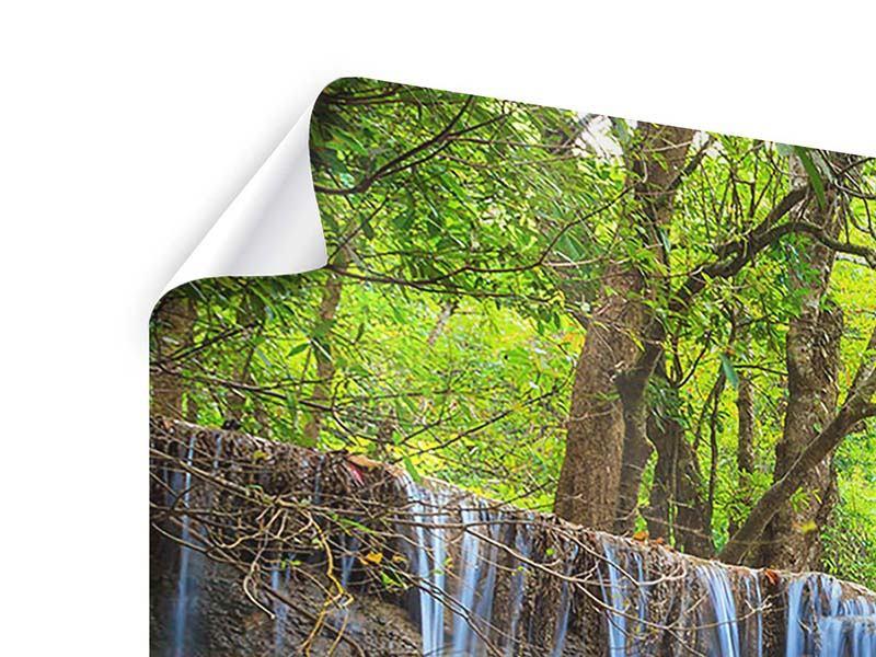 Poster Panorama Wasserfall Si Nakharin