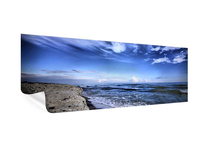 Poster Panorama Strandwellen