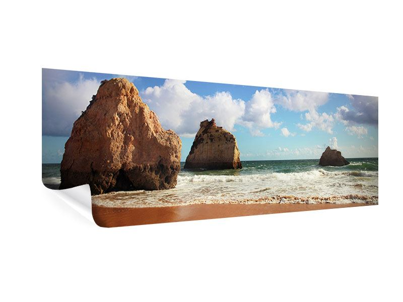 Poster Panorama Strandgedanken