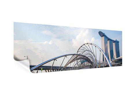 Poster Panorama Helix-Brücke