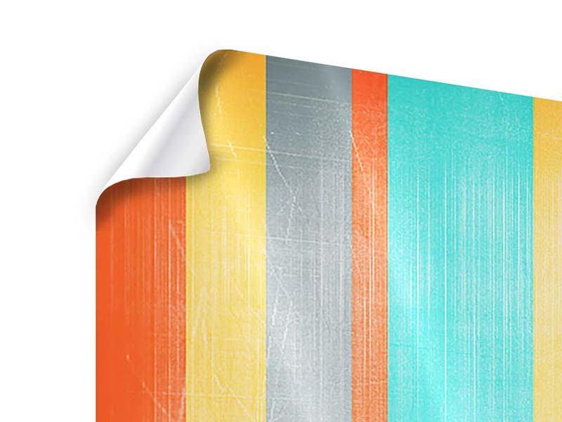 Poster Panorama Grunge Streifen