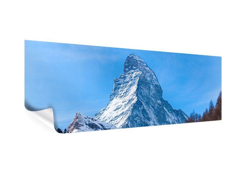 Poster Panorama Das majestätische Matterhorn
