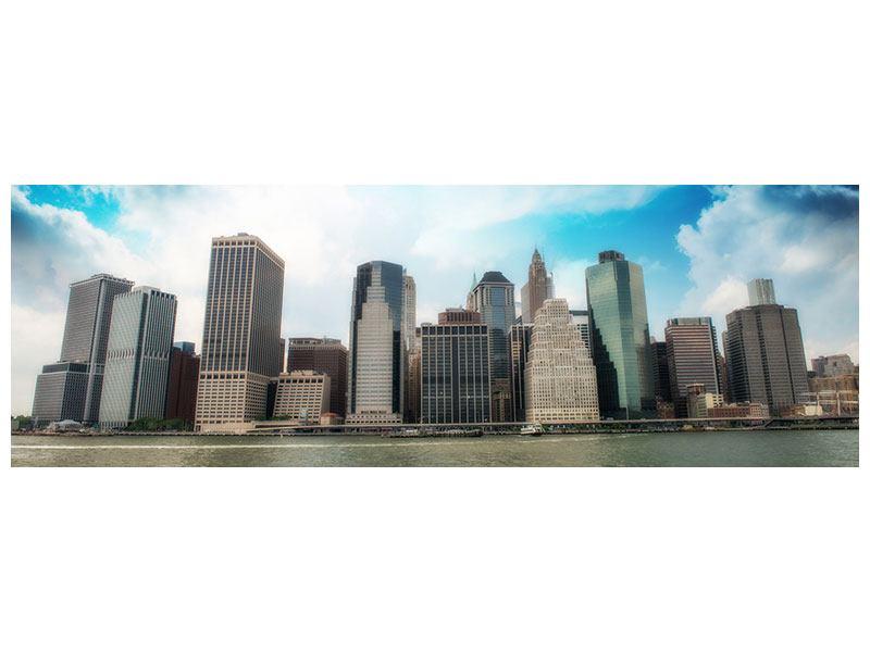 Poster Panorama Skyline Lower Manhattan