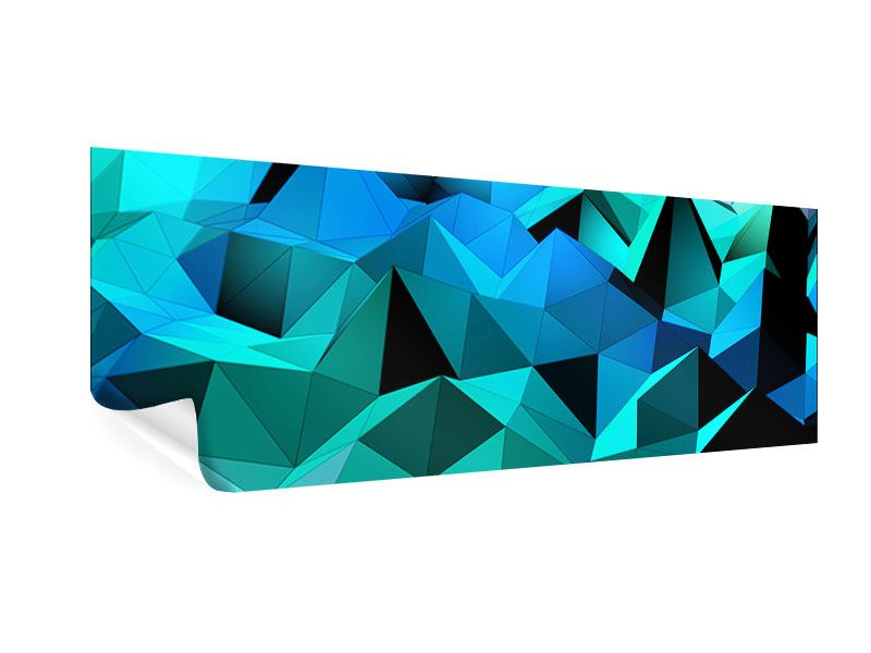Poster Panorama 3D-Diamonds