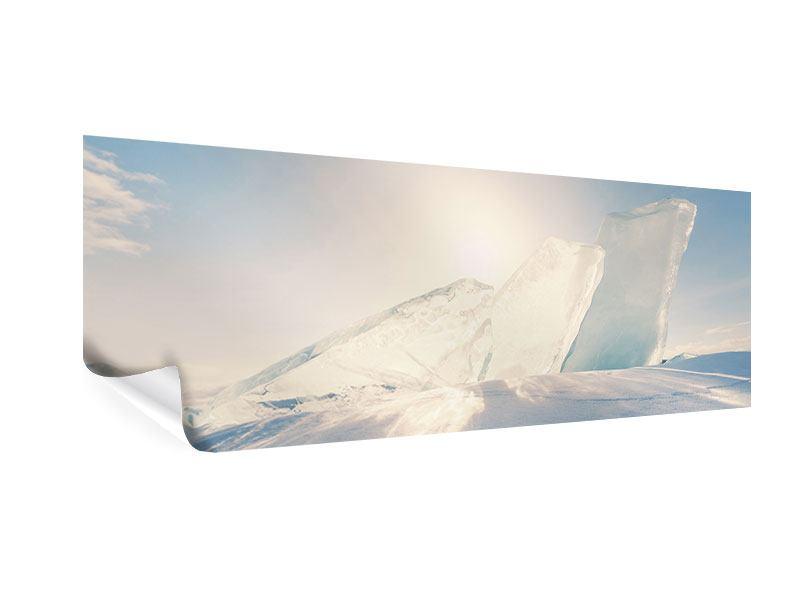 Poster Panorama Eislandschaft