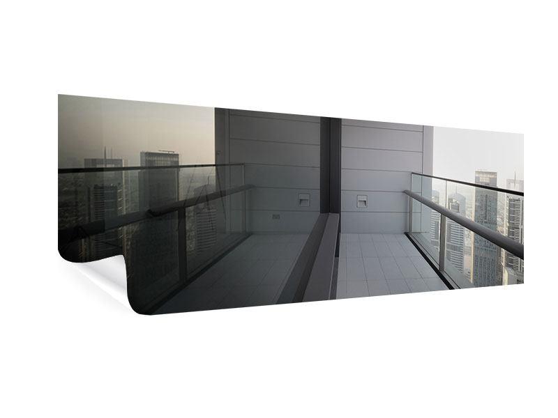 Poster Panorama Balkon in Dubai