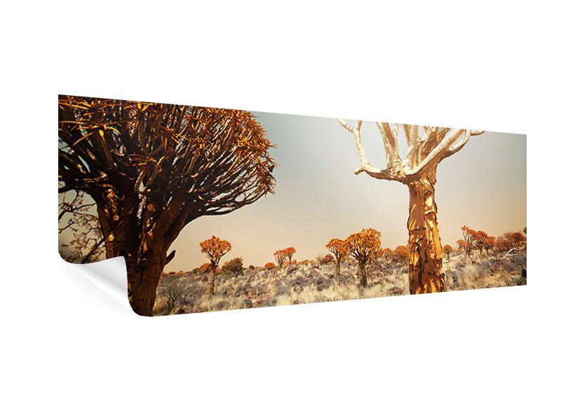 Poster Panorama Afrikanische Landschaft