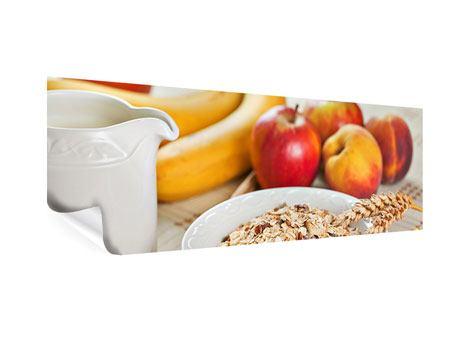 Poster Panorama Frühstück