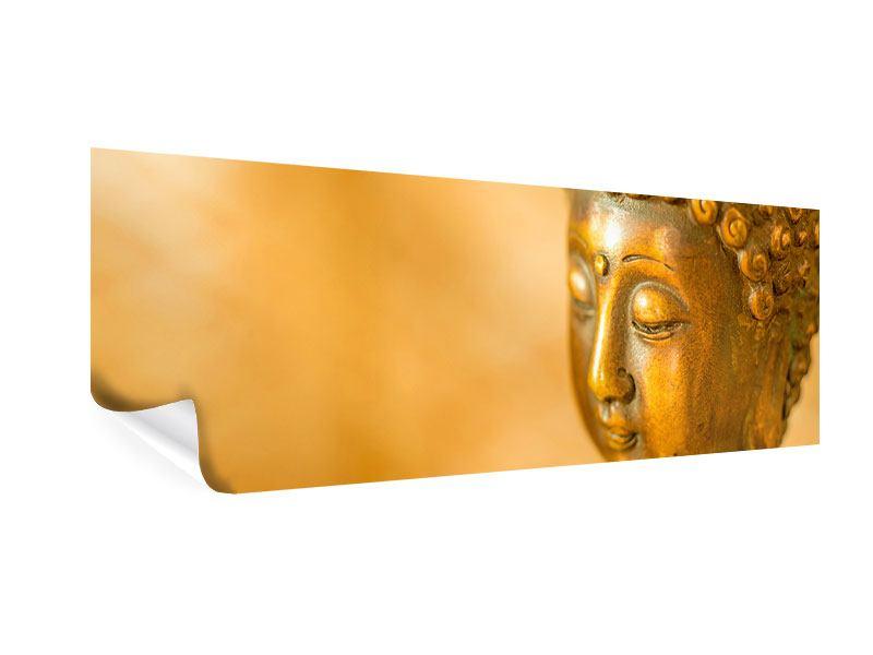 Poster Panorama Buddha Kopf