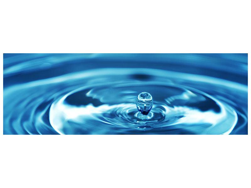 Poster Panorama Der Wassertropfen