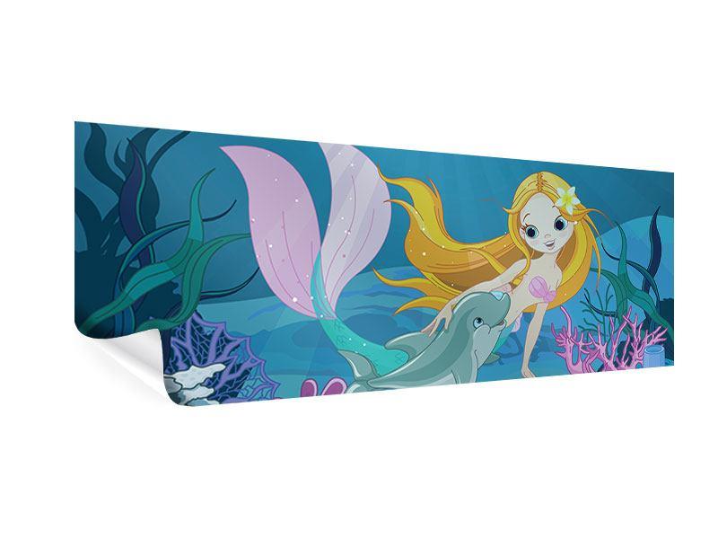 Poster Panorama Die Meerjungfrau