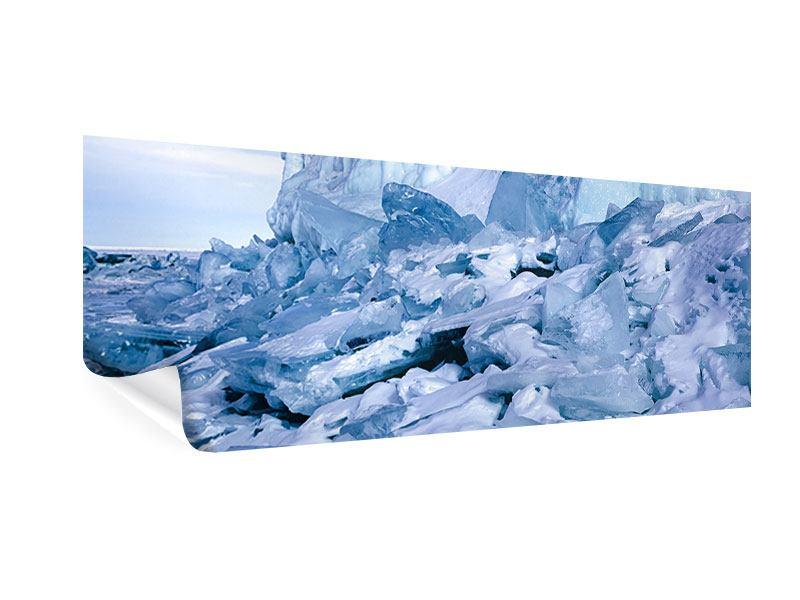Poster Panorama Eislandschaft Baikalsee