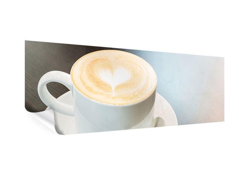 Poster Panorama Lieblingskaffee