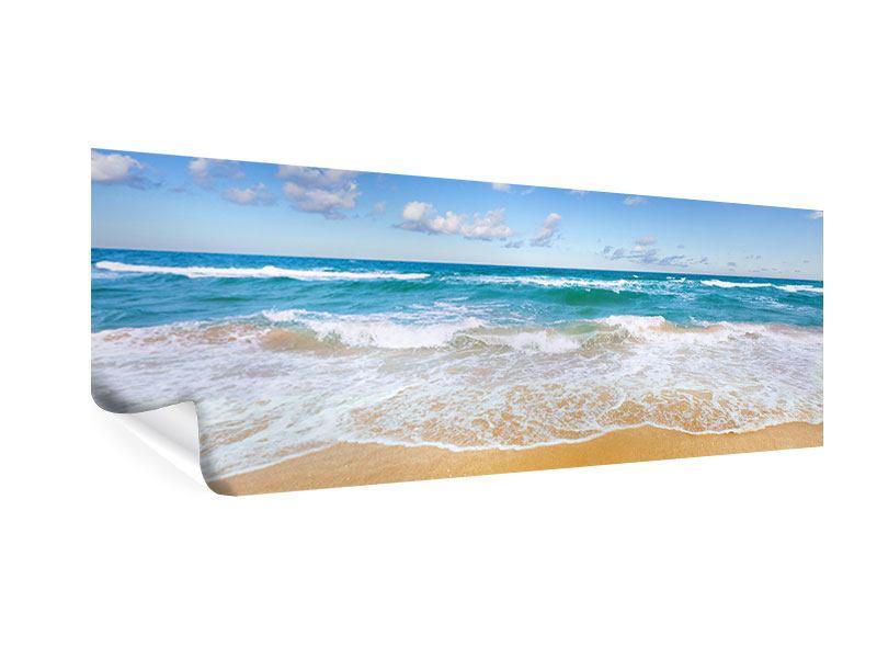 Poster Panorama Die Gezeiten und das Meer