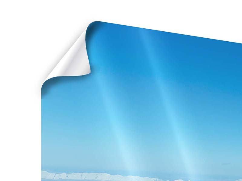 Poster Panorama Über den Wolken