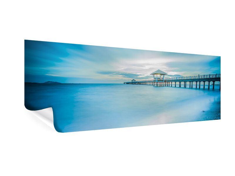 Poster Panorama Brückenimpression