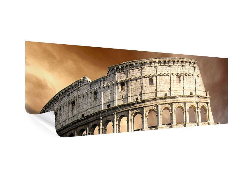 Poster Panorama Kolosseum Rom
