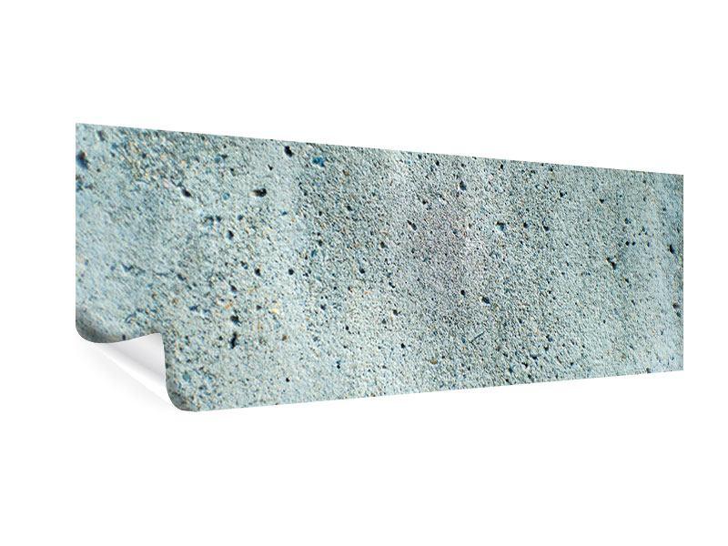 Poster Panorama Beton in Grau