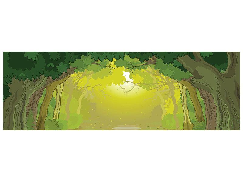 Poster Panorama Der Märchenwald