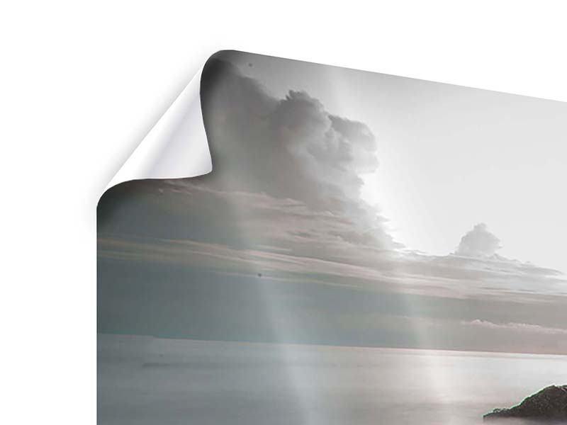 Poster Panorama Steine am Strand