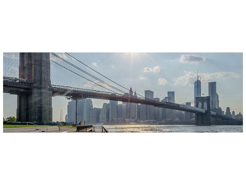 Poster Panorama Brooklyn Bridge