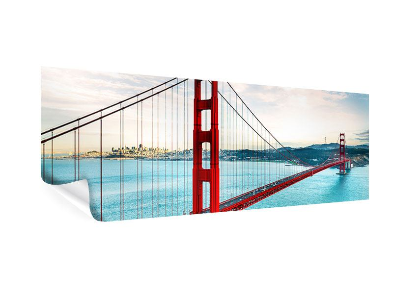 Poster Panorama Golden Gate Bridge