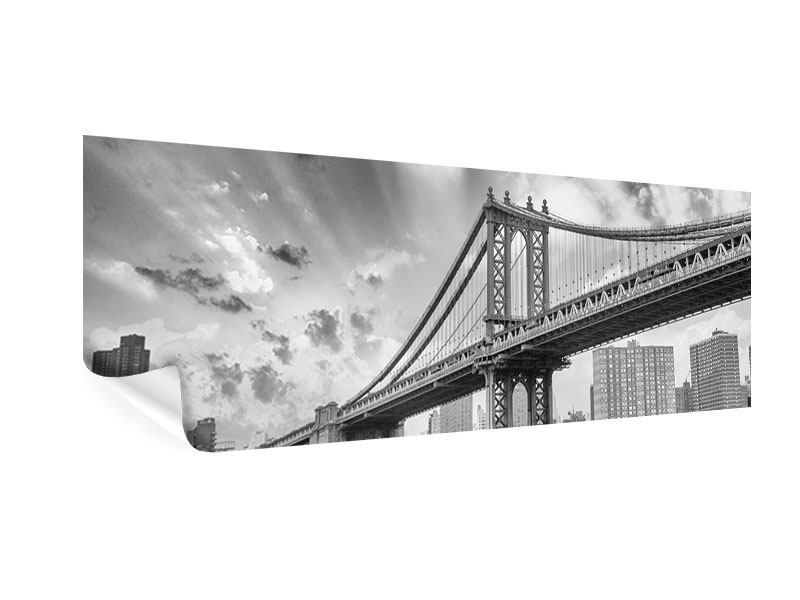 Poster Panorama Manhattan Bridge