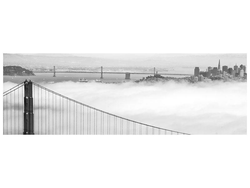 Poster Panorama Golden Gate Brücke