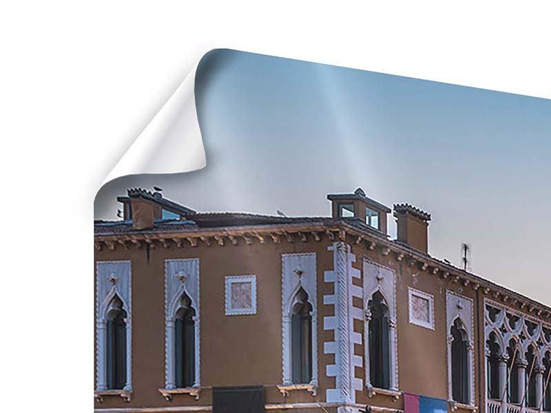 Poster Panorama Romantisches Venedig