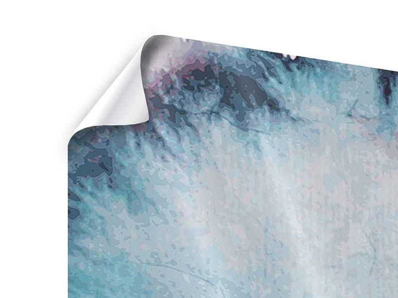 Poster Panorama Fisch-Aquarell