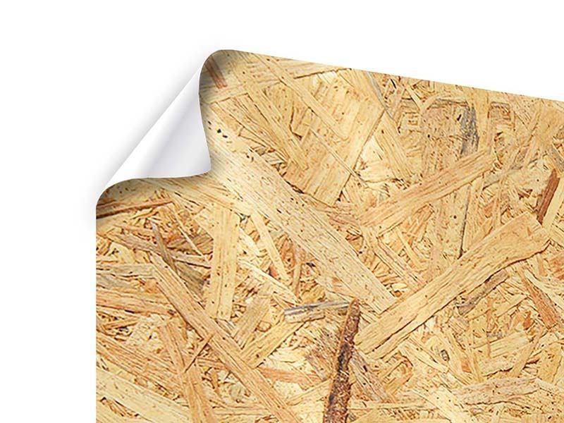 Poster 3-teilig Gepresstes Holz