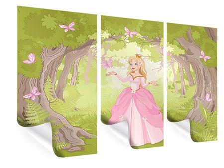 Poster 3-teilig Princess
