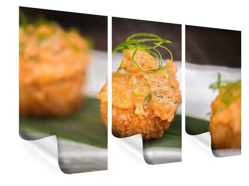 Poster 3-teilig Asiatische Küche