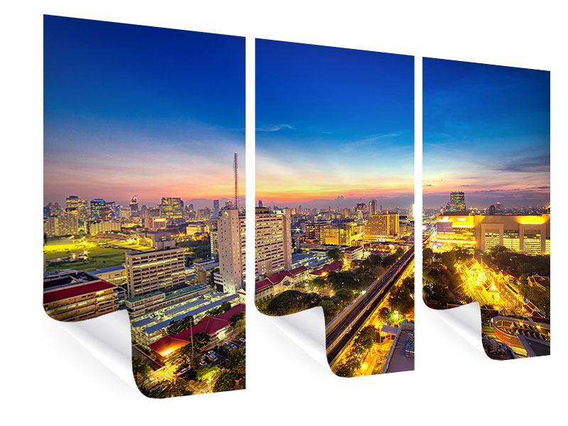 Poster 3-teilig Bangkok