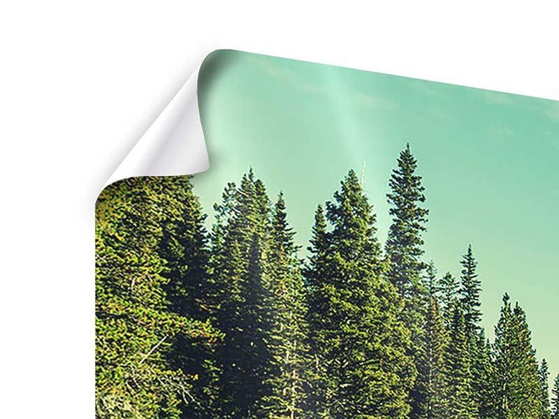 Poster 3-teilig Die Musik der Stille in den Bergen