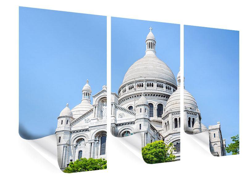 Poster 3-teilig Paris- Montmartre