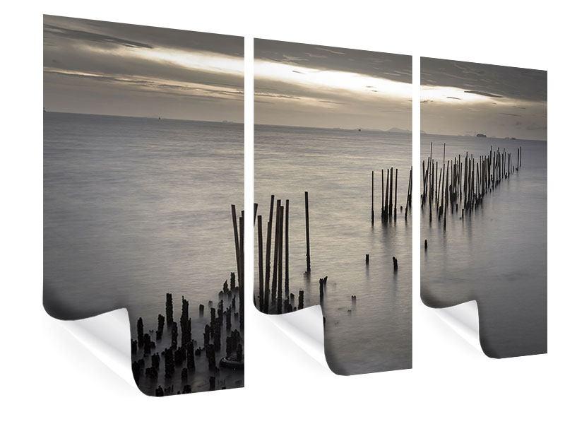Poster 3-teilig Das Meer und die Träne