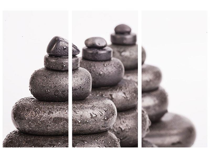 Poster 3-teilig Die Kraft der Steine