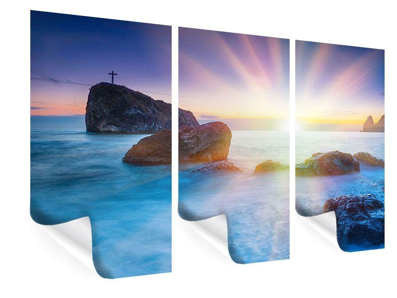 Poster 3-teilig Mystisches Meer