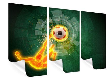Poster 3-teilig Der Kicker
