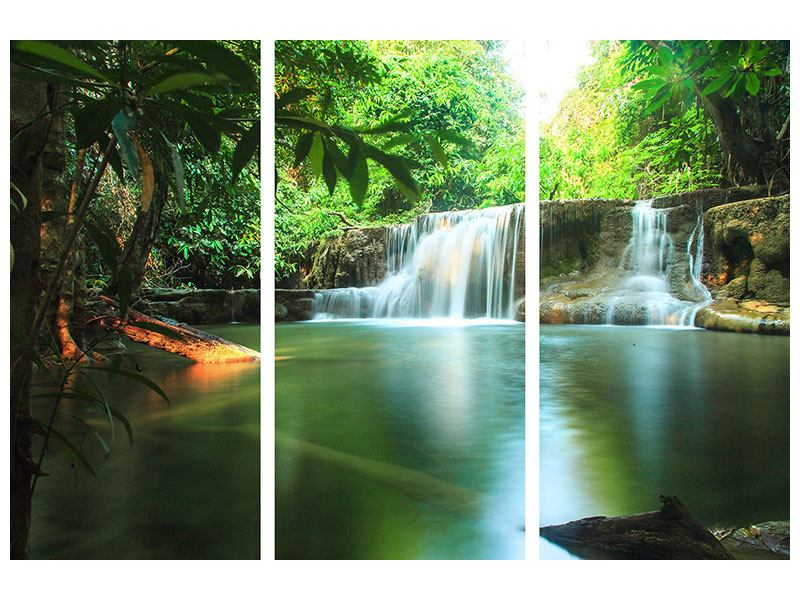 Poster 3-teilig Element Wasser