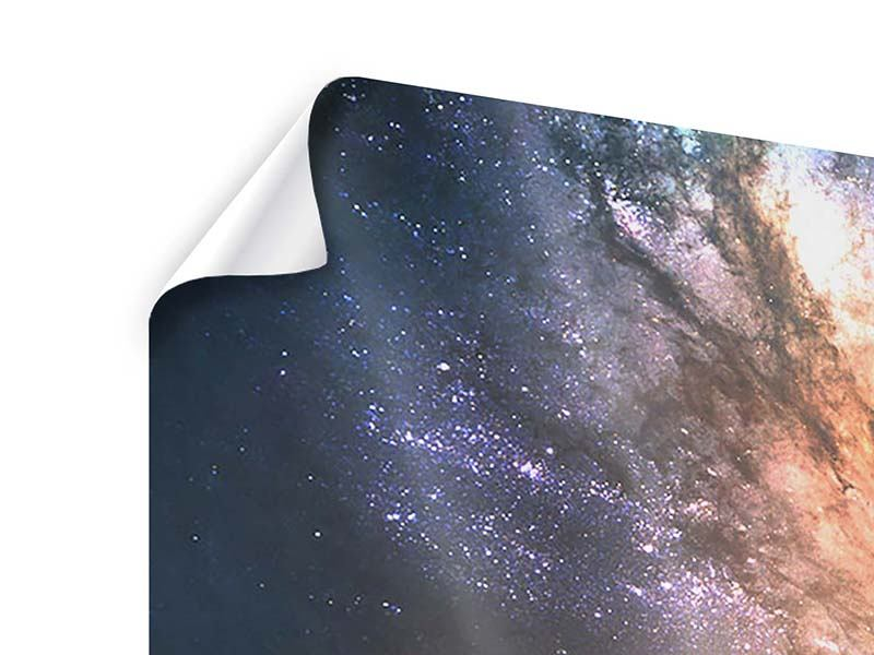 Poster 3-teilig Universus