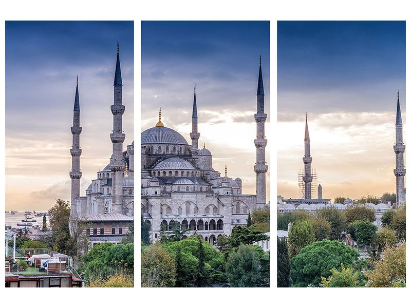 Poster 3-teilig Istanbul