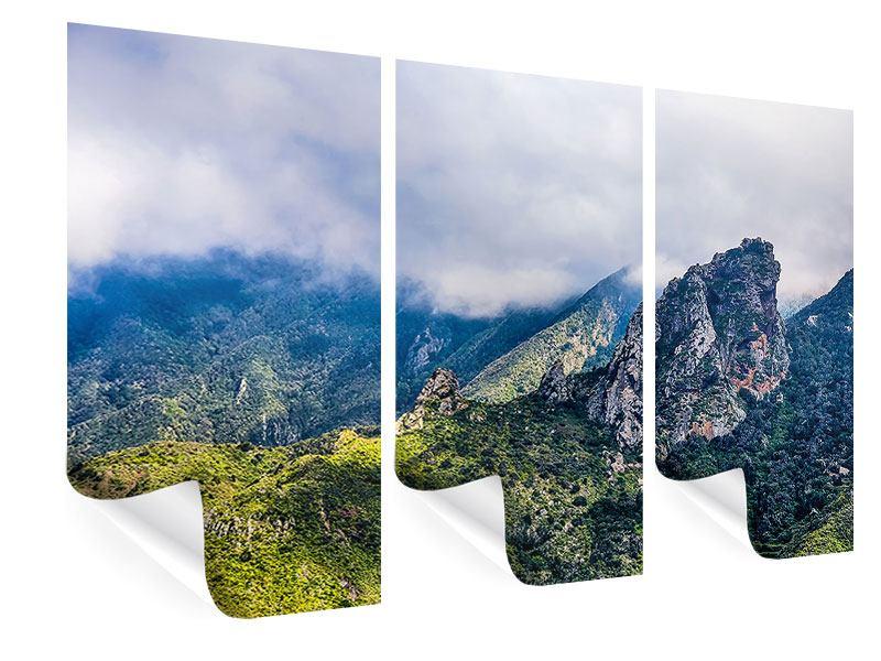 Poster 3-teilig Der stille Berg