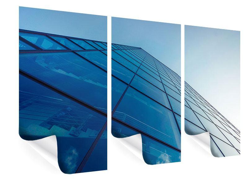 Poster 3-teilig Wolkenkratzer-Highlight