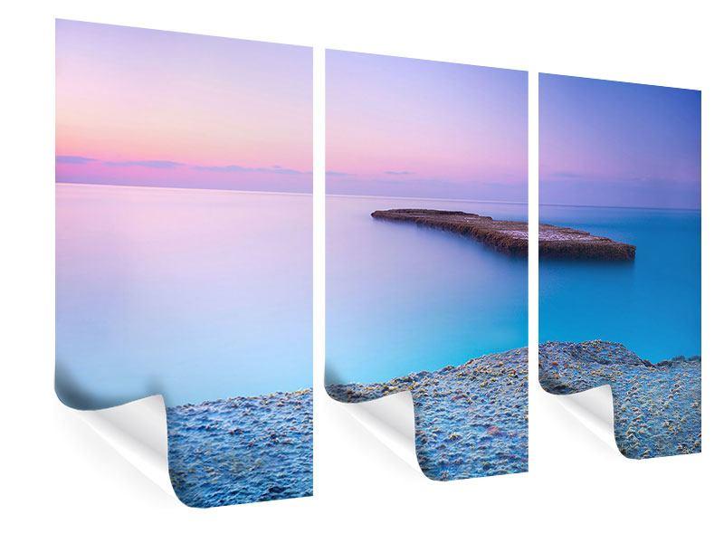 Poster 3-teilig Unendlicher Ozean